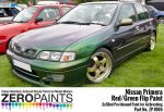 ZEROPAINTS ZP-1065 Nissan Primera Mystic Green (Red/Green) Flip Paint 2x30ml (Limited Edition Colour)