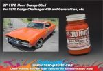 ZEROPAINTS ZP-1172 Hemi Orange (General Lee) Paint 60ml