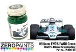 ZEROPAINTS ZP-1189/30 Williams FW07-FW08 Green Paint 30ml