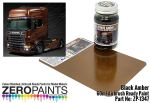 "ZEROPAINTS ZP-1347 ""Black Amber"" Scania R730 V8 similar to Italeri 3897 Paint 60ml"
