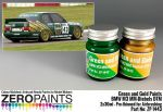 ZEROPAINTS ZP-1443 BMW M3 MM-Diebels DTM - Green and Gold Paint Set 2x30ml