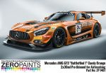 "ZEROPAINTS ZP-1467 Mercedes AMG GT3 ""Battlefiled 1"" Candy Orange Paint 2x30ml"