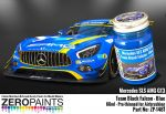 ZEROPAINTS ZP-1481 Mercedes AMG GT3 Team Black Falcon Blue Paint 60ml