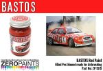 ZEROPAINTS ZP-1515 Bastos Red Paint for Bastos Sponsored Cars 60ml