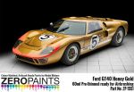 ZEROPAINTS ZP-1551 Honey Gold Paint ähnlich Ford GT40, 60ml