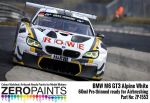 ZEROPAINTS ZP-1553 BMW M6 GT3 Alpine White Paint 60ml