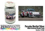 ZEROPAINTS ZP-1587 Porsche 911 Martini Silver Paint 60ml