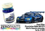 ZEROPAINTS ZP-1639 Pearl Blue Playstation BMW M6 GT3 Paint 30ml