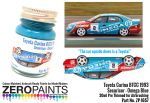 ZEROPAINTS ZP-1657 Toyota Carina BTCC 1993 Securicor - Omega Blue - 30ml